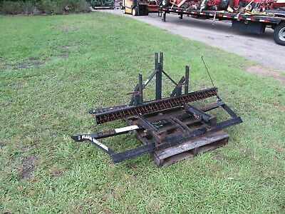 Rahn Gl 650 Infield Groomer Grader Scariffier Mounts 3 Pt Hitch Small Tractor