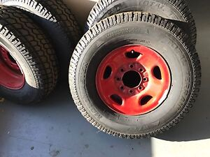 gmc chevy wheels with tires