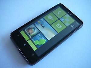 HTC HD7 16GB BLACK TOP+OVP+VIELE EXTRAS+12 MONATE GEWÄHRLEISTUNG