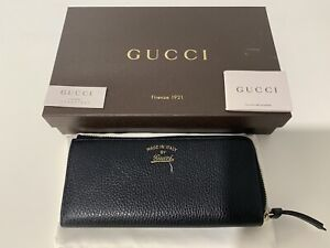 Authentic Gucci Black Leather. Wallet NWB