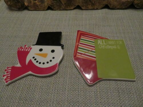 Coton Colors Happy Everything MINI Attachments Christmas Letter  & Frosty