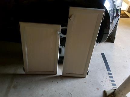 Caravan cupboard doors and drawers