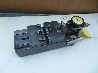 Vintage Gear Tester Checker Industrial Machinist Tool Pratt Whitney .0001 Usa