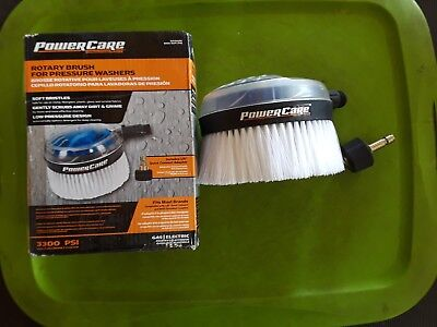 Power Care Rotary Brush For Pressure Washers 3300 Psi Ap31092 Gas Electric