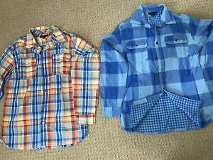 Like new - 2 Tommy Hilfiger  Long Sleeves Shirts (XL - 16/18)