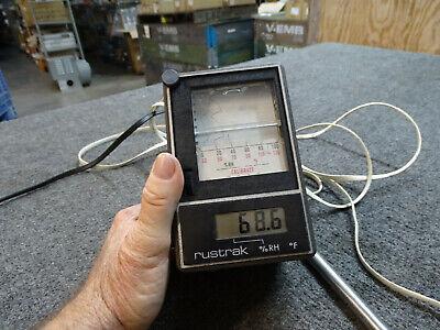 Rustrak Digilog 25af Strip Chart Recorder W Rh-12 Probe Rh Temperature