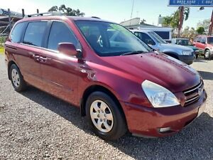 2008 Kia Carnival EX  *AUTO *Red *7 Seater *Free 1 Year Warranty !! Holtze Litchfield Area Preview