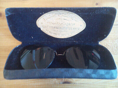 Brillenvorsatz Sonnenbrillenvorsatz 30er / 40er Jahre