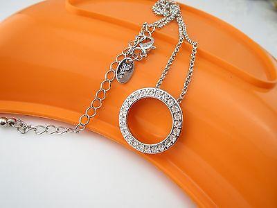 Lia Sophia Elude Necklace    Silver Cut Crystal