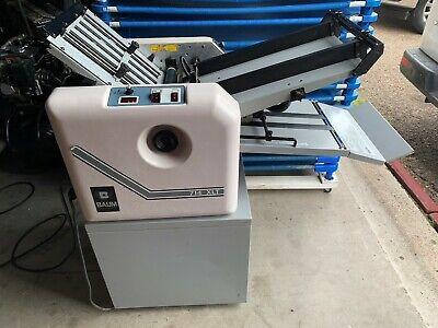 Baum 714xlt 714xltd-2-p-1 Air Feed Folder With Cart