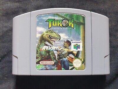 TUROK DINOSAUR HUNTER Nintendo 64 Game N64