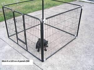 BRAND NEW Pet Dog Encl Play Pen Run-80cmHx120cmWx4 PANEL Kingston Logan Area Preview