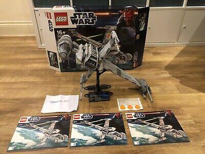 LEGO 10227 - Star Wars UCS B-Wing Starfighter - Inc Box & Manual