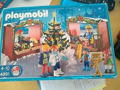 Playmobil 4891 Christmas market set