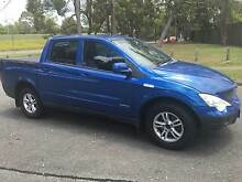 2008 SSANGYONG ACTYON SPORT LIMITED 4X4 DIESEL (6 SPD AUTOMATIC) Rochedale South Brisbane South East Preview