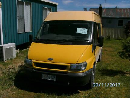 Ford Transit Van Queenstown West Coast Area Preview