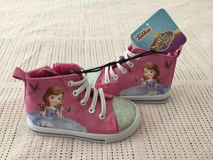 Disney Junior Sofia the first hi top shoes ~Size 7~