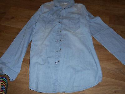 Chemise en jean  femme