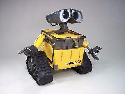 Wall-E Remote Control Robot Sound Toy Thinkway Toys Disney Pixar Walle Wall E