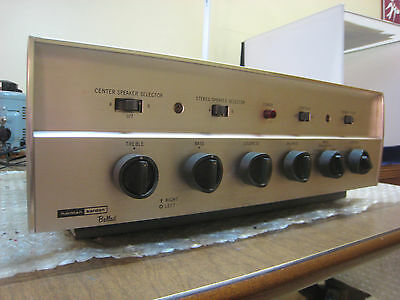 Harman Kardon refurbed A230 stereo tube integrated amplifier, EL84, 15 WPC, nice