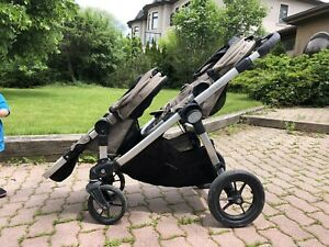 Baby jogger city select added seat, maxi cosi car seat, extras