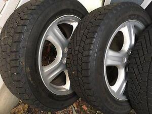 """16"""" Subaru mags-Winter tires"""