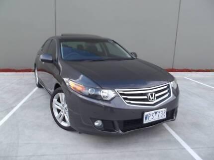 2008 Honda Accord Euro CU Grey Black 5 Speed Automatic Sedan Campbellfield Hume Area Preview