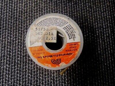 Federated Fry 5050 Acid Core Flux Solder .062 2.5 16oz 1lb