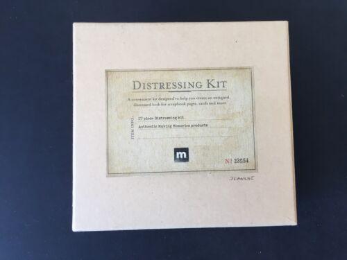 Distressing Kit - Aging & Antiqued - Scrapbook - 20+ pieces - Making Memories