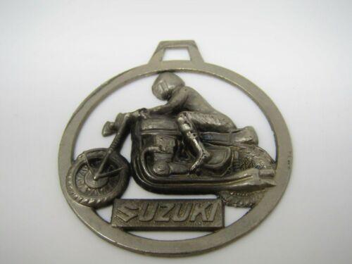 Suzuki Motorcycle Keychain Large Charm Advertising Christmas Ornament