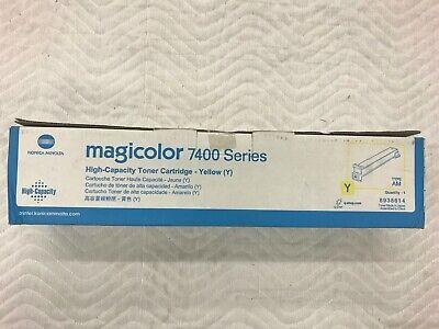 Konica Minolta Yellow Toner for MagiColor 7400 7450 NEW High Capacity OEM - Magicolor 7450 Compatible Toner