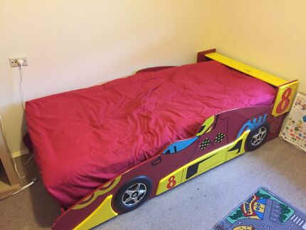 Single Boy's Race Car Bed  Enfield Port Adelaide Area Preview