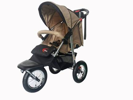 B. New Mamakiddies 3 Wheel Baby Pram Baby Stroller Jogger Buggy