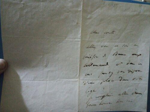 Autographs Franz Liszt Autograph letter, 2 pages