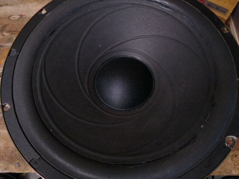 Realistic Mach One 1 Woofer 8 OHM Refoamed