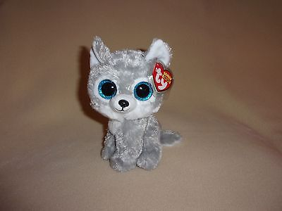 Ty Mint Warrior The Wolf Beanie Boo  6  Boos  Great Wolf Lodge Exclusive  Ct