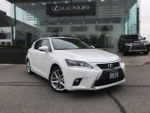2016 Lexus CT 200h Executive Package Navigation Backup CAM Sunro
