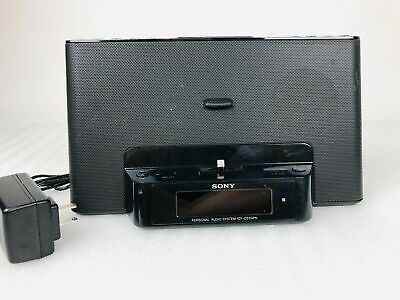 SONY ICF-CS15iPN Speaker Dock/Clock Radio For iPod & iPhone