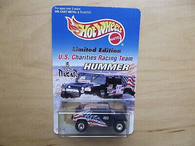"Hot Wheels 1997 U.S. Charities Racing Team Dakar Limited Edition ""HUMMER"" - New"