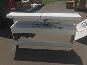 White Double Bed Headboard