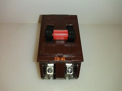 Wadsworth A220 20 Amp 2 Pole 120/240V Circuit Breaker Metal Tabs Plug In 240v 20 Amp Circuit Breaker