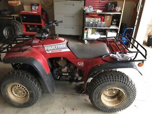 Looking for 88-92 Honda Fourtrax 4x4 parts and bikes