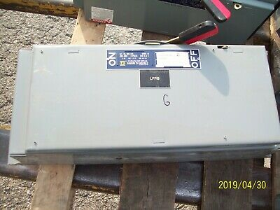Square D Qmb-324 200a 200 Amp 3-pole Disconnect Panelboard Switch