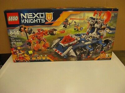 LEGO 70322 Axl's Tower Carrier NEW Nexo Knights  Ash Attacker Bot
