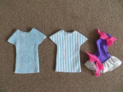 JEM & HOLOGRAMS DOLL OUTFITS - Jerrica Striped  / Rock N Curl Dress