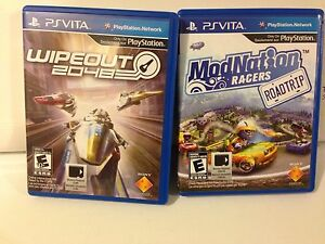 Wipeout 2048 and ModNation Racers