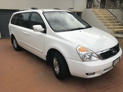 Kia Grand Carnival 2012 White, 8 seats Mansfield Brisbane South East Preview