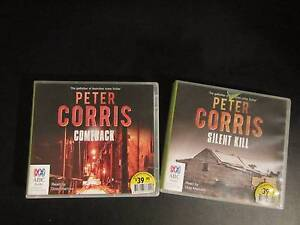 Peter Corris Story Books - Comeback & Silent Kill Armadale Armadale Area Preview