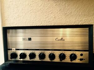 Vintage Tube head by Bell