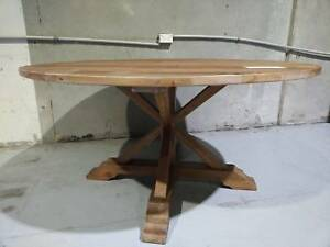 French Provincial - 150cm Round Dining Table - FACTORY 2ND - Richmond Yarra Area Preview